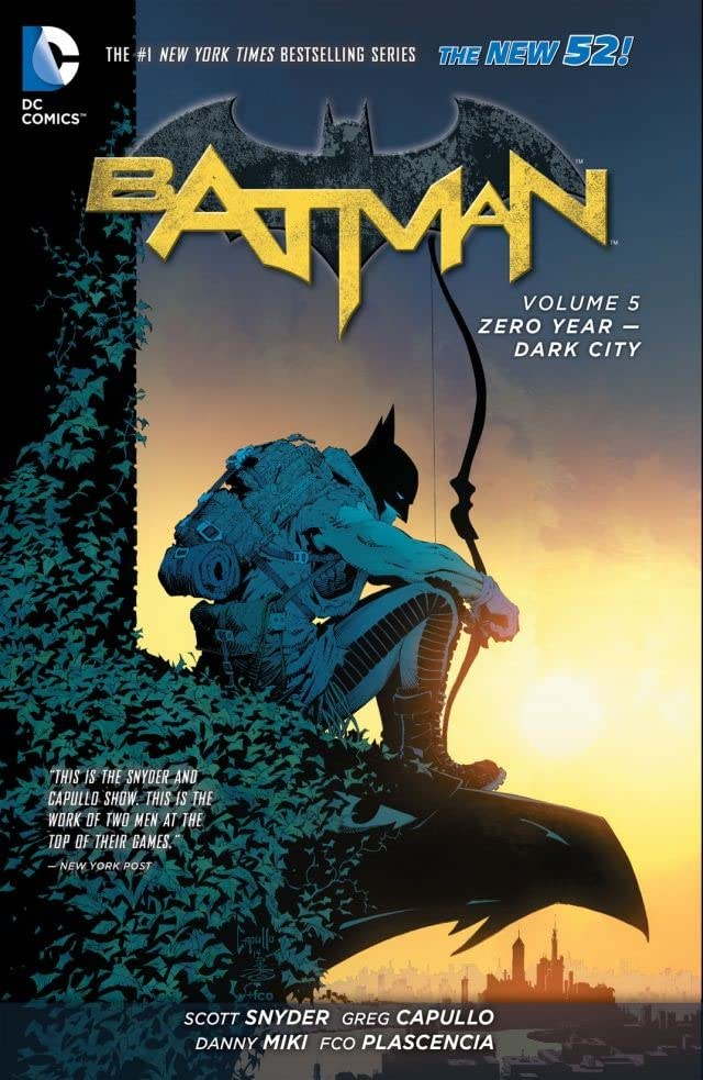 Batman (2011-2016) Tome 5: Zero Year – Dark City
