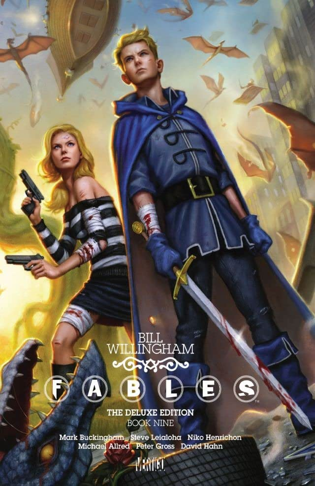 Fables: The Deluxe Edition: Book Nine
