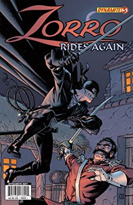 Zorro Rides Again #3 (of 12)