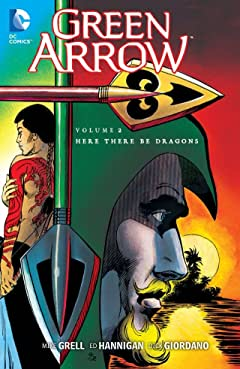 Green Arrow (1988-1998) Vol. 2: Here There Be Dragons