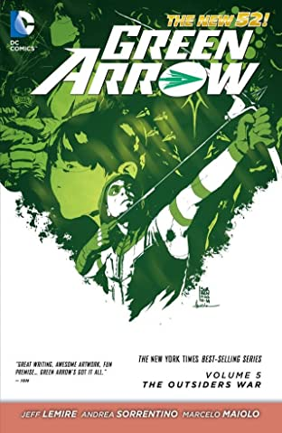 Green Arrow (2011-) Vol. 5: The Outsiders War
