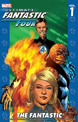 Ultimate Fantastic Four Tome 1: The Fantastic