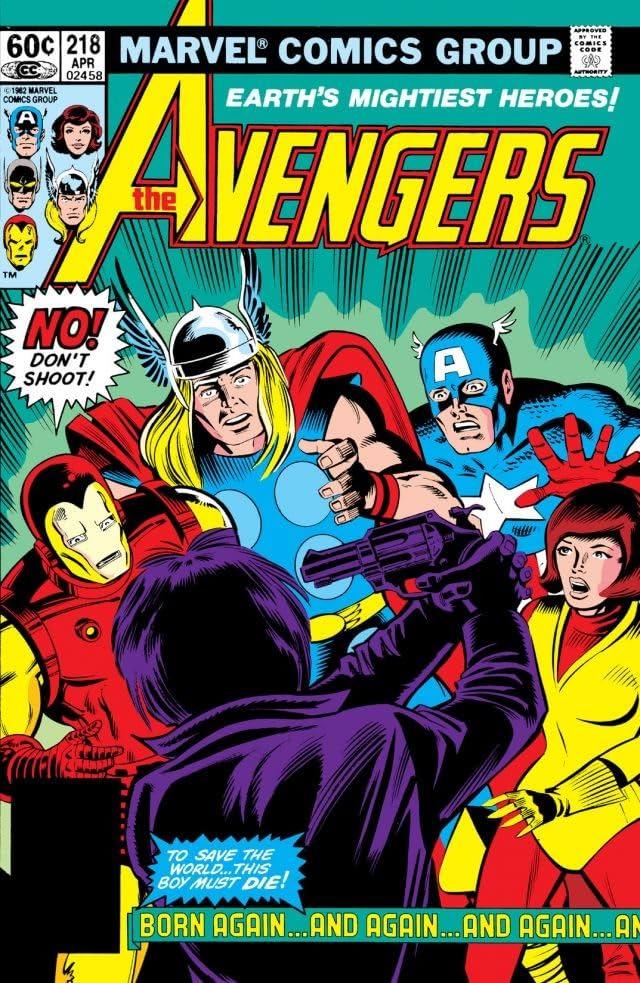Avengers (1963-1996) #218