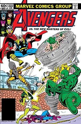 Avengers (1963-1996) #222