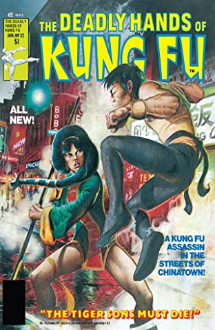 Deadly Hands of Kung Fu (1974-1977) No.32