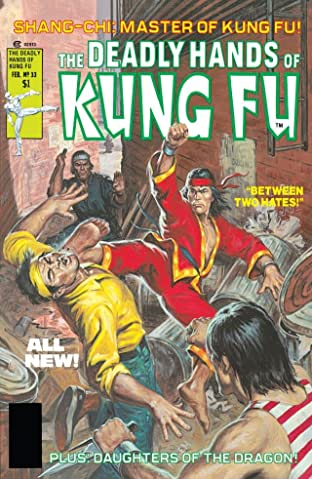 Deadly Hands of Kung Fu (1974-1977) No.33