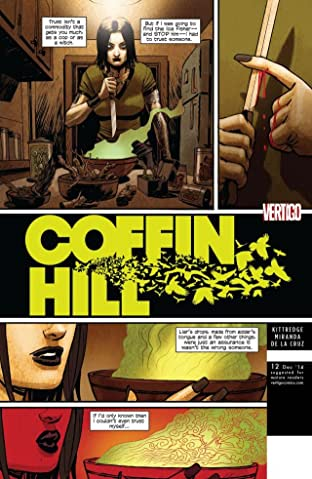 Coffin Hill (2013-2015) No.12