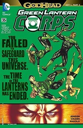 Green Lantern Corps (2011-2015) #35
