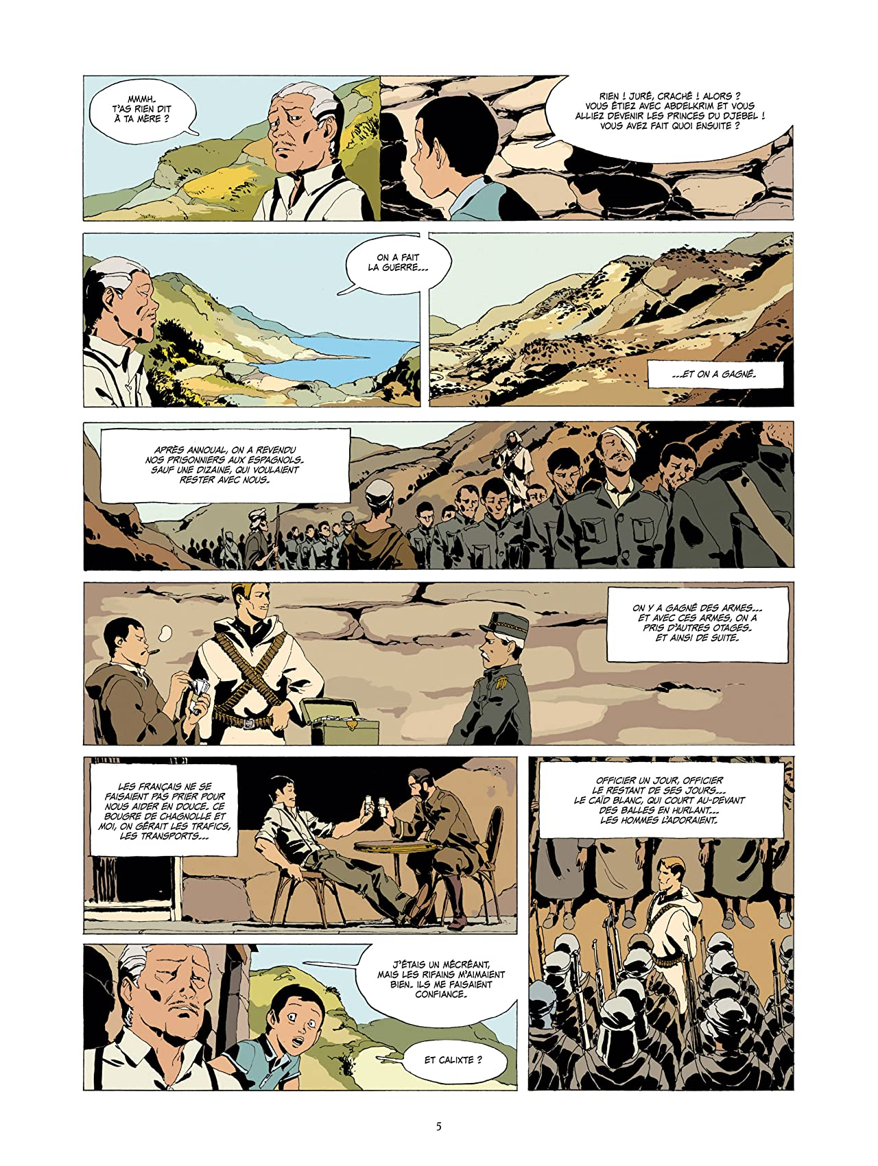 L'Or et le Sang Vol. 3: Les princes du Djebel