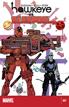 Hawkeye vs. Deadpool #1 (of 4)