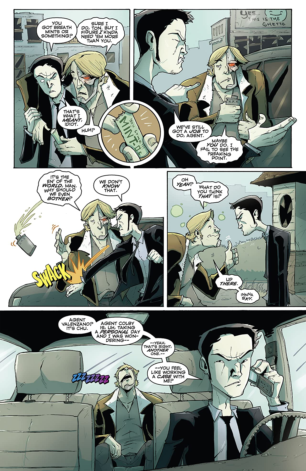 Chew Vol. 4: Flambe