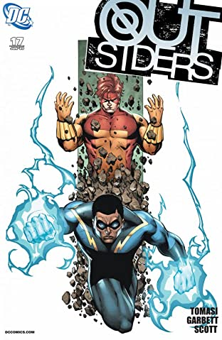 Outsiders (2007-2011) No.17