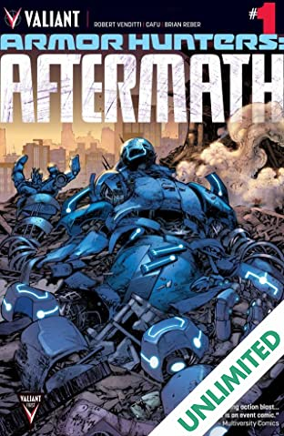 Armor Hunters: Aftermath (2014) #1: Digital Exclusives Edition