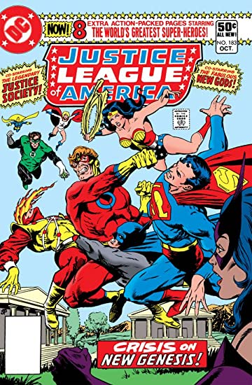 Justice League of America (1960-1987) #183