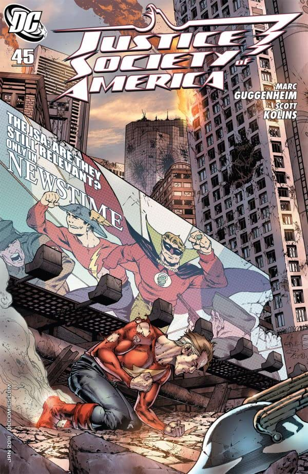 Justice Society of America (2007-2011) #45
