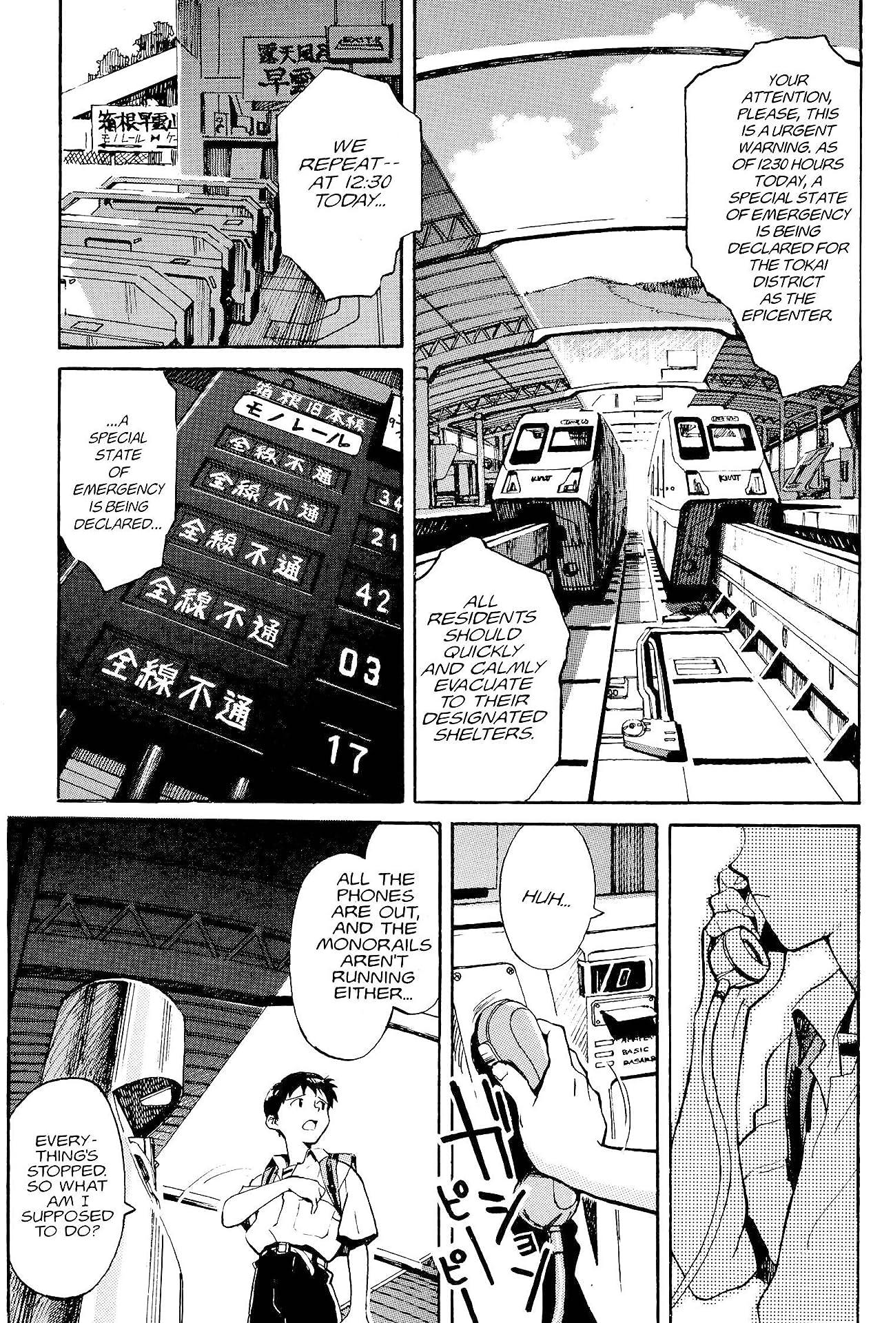 Neon Genesis Evangelion 3-in-1 Edition Vol. 1