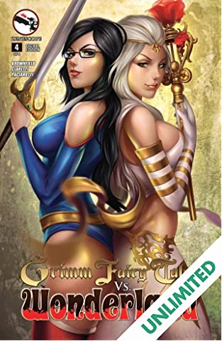 Grimm Fairy Tales vs. Wonderland #4 (of 4)