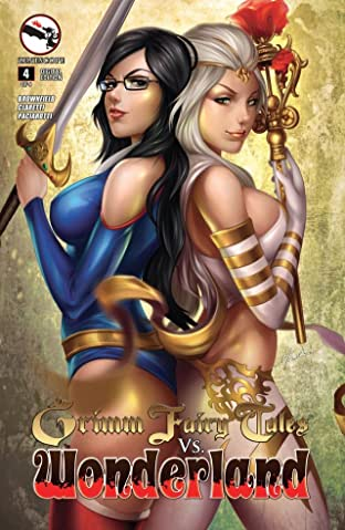 Grimm Fairy Tales vs. Wonderland #4 (of 4)