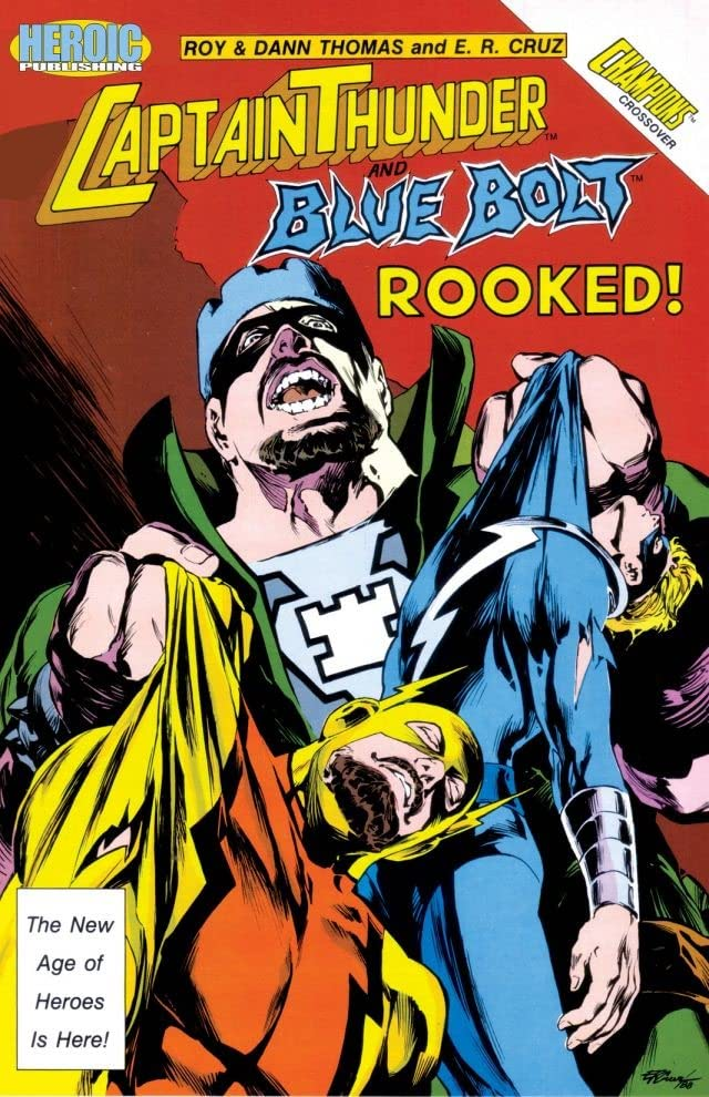 Captain Thunder and Blue Bolt #10