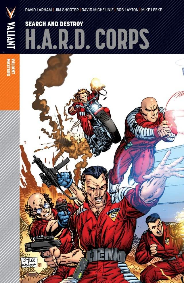 Valiant Masters: H.A.R.D. Corps Vol. 1: Search and Destroy