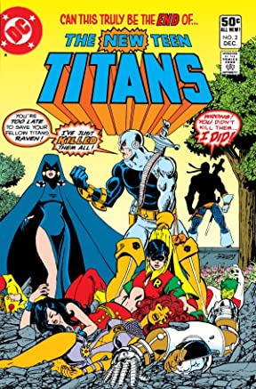 comics Original teen titan