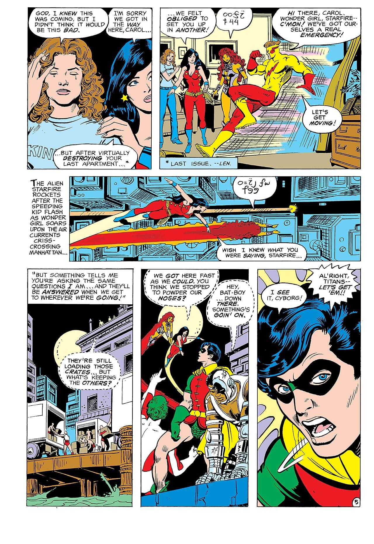New Teen Titans (1980-1988) #2