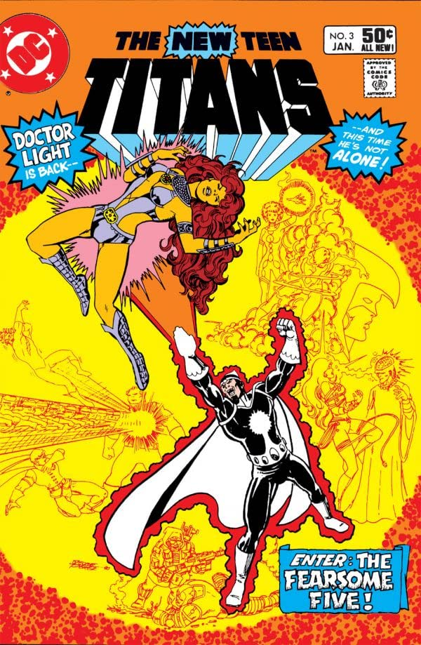 New Teen Titans (1980-1988) #3