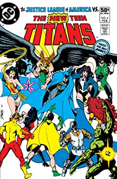 New Teen Titans (1980-1988) #4