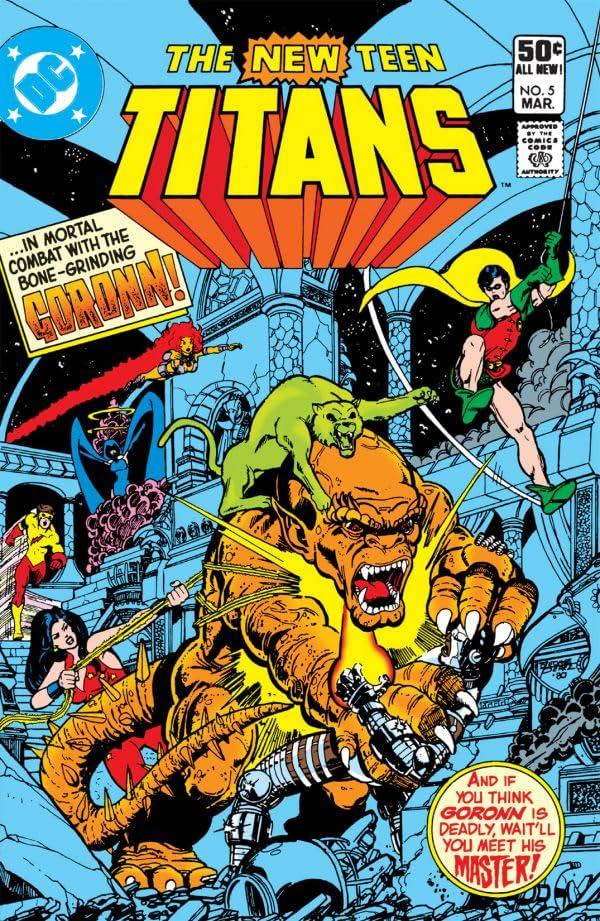 New Teen Titans (1980-1988) #5