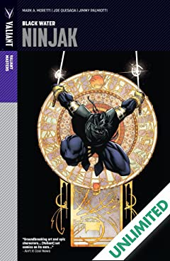 Valiant Masters: Ninjak Vol. 1: Black Water