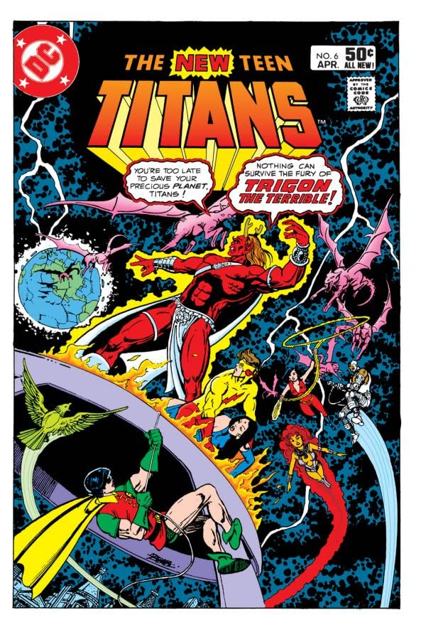 New Teen Titans (1980-1988) #6