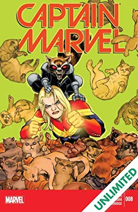 Captain Marvel (2014-2015) #8