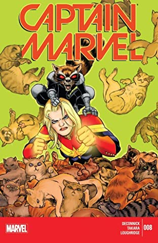 Captain Marvel (2014-2015) No.8