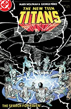 The New Teen Titans (1984-1996) No.2