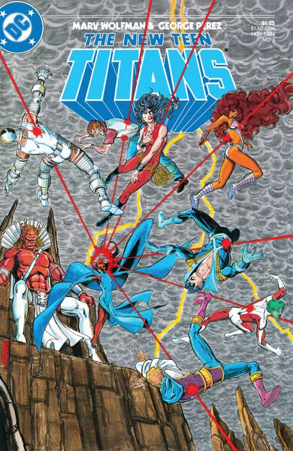 The New Teen Titans (1984-1996) #3