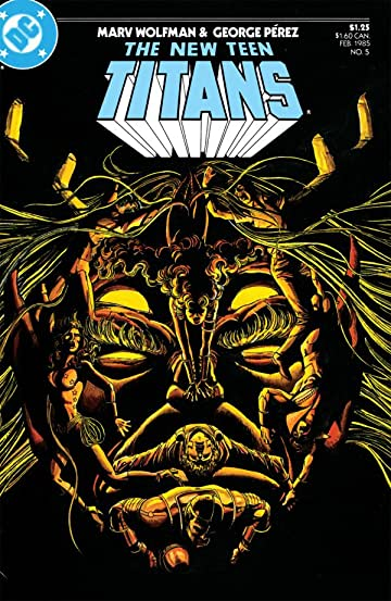 The New Teen Titans (1984-1996) #5