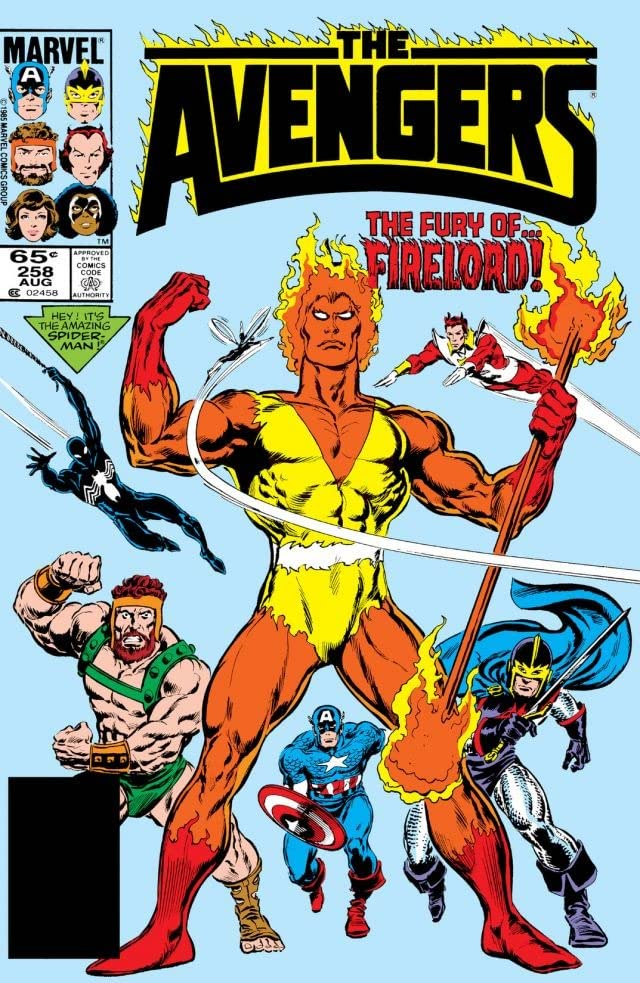 Avengers (1963-1996) #258