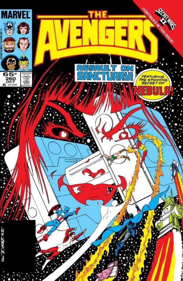 Avengers (1963-1996) #260