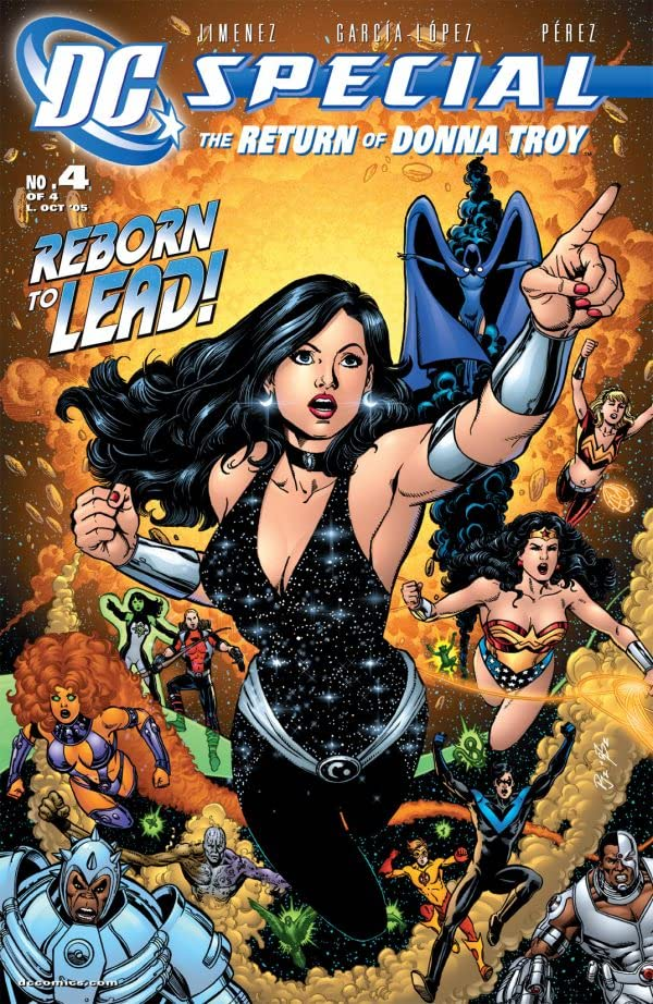 DC Special: The Return of Donna Troy #4 (of 4)