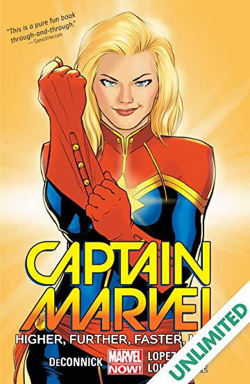 5530fd89ebd Captain Marvel Vol. 1  Higher