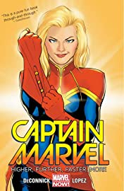 Captain Marvel Tome 1: Higher, Further, Faster, More