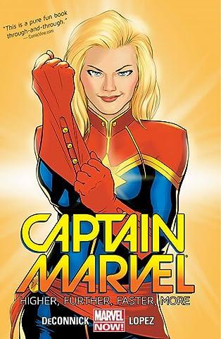 Captain Marvel Vol. 1: Higher, Further, Faster, More