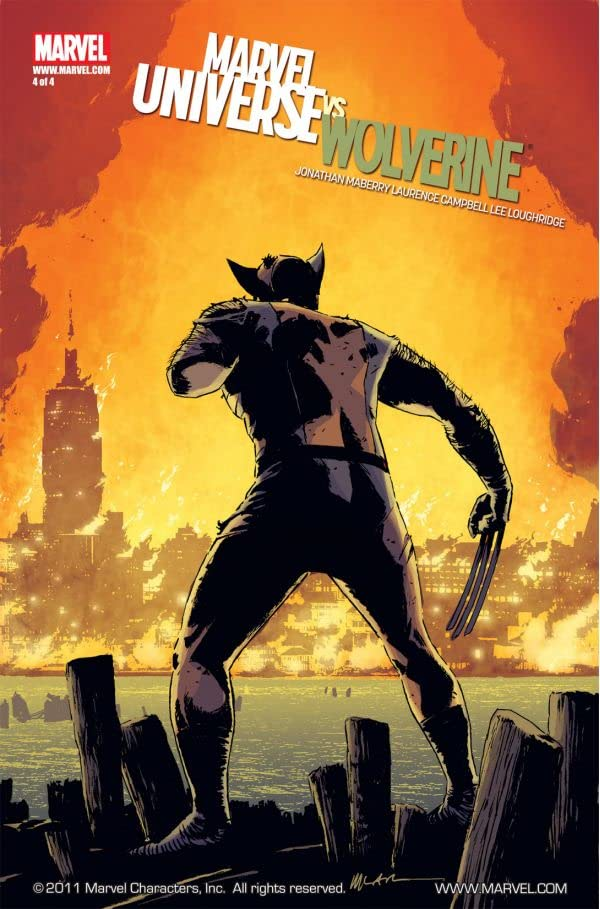 Marvel Universe vs. Wolverine #4 (of 4)