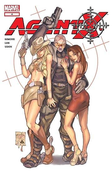 Agent X (2002-2004) No.4
