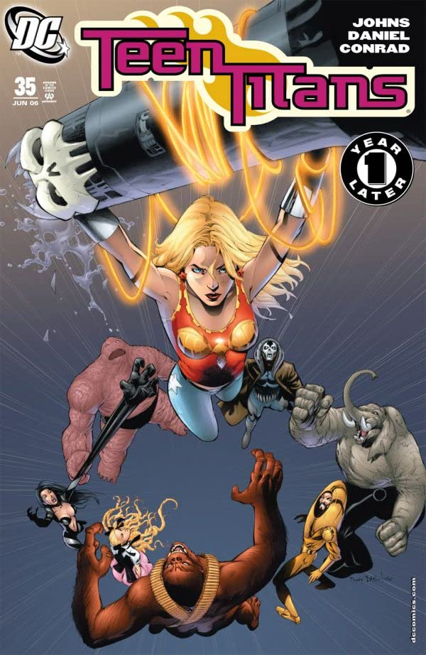 Teen Titans (2003-2011) #35