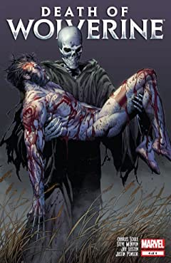 Death of Wolverine No.4 (sur 4)