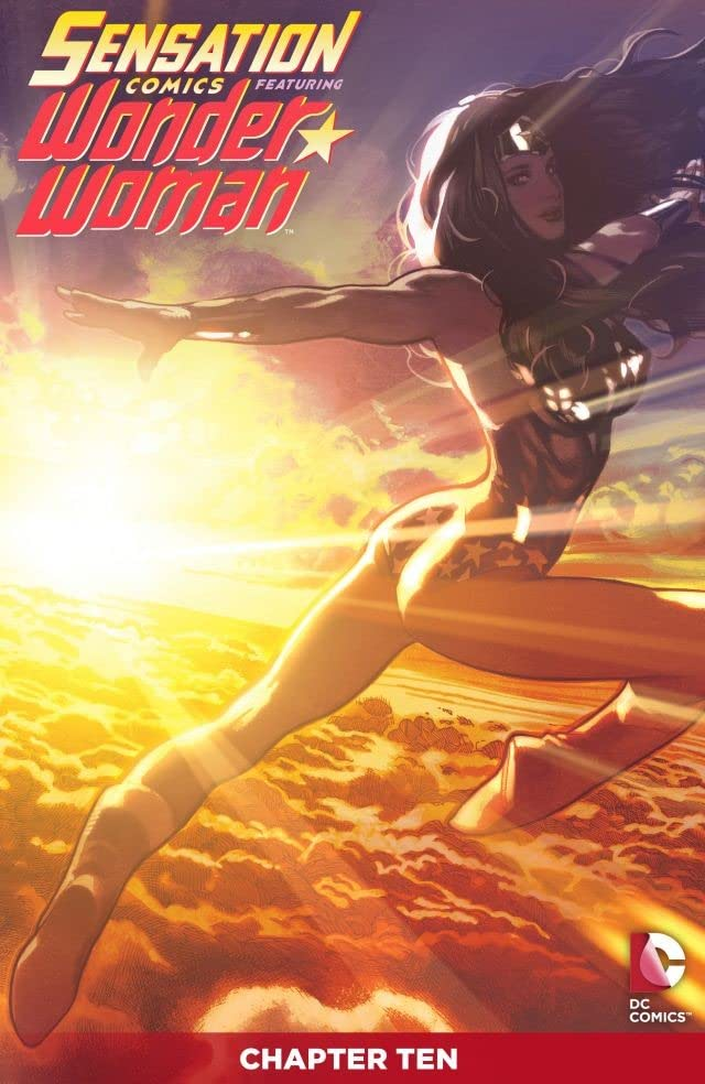 Sensation Comics Featuring Wonder Woman (2014-2015) #10
