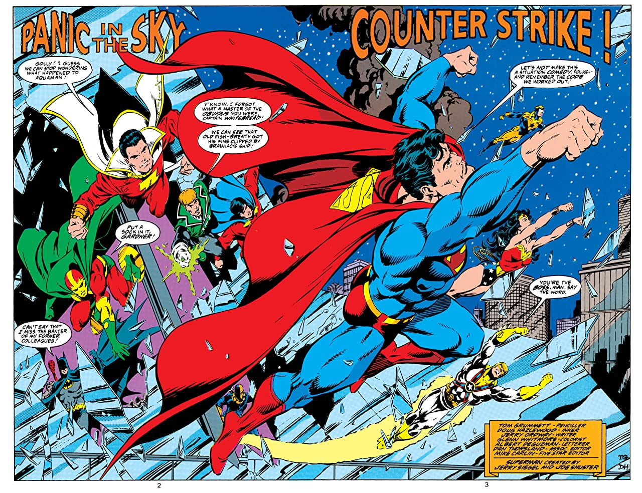 Adventures of Superman (1986-2006) #488