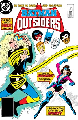 Batman and the Outsiders (1983-1987) #20