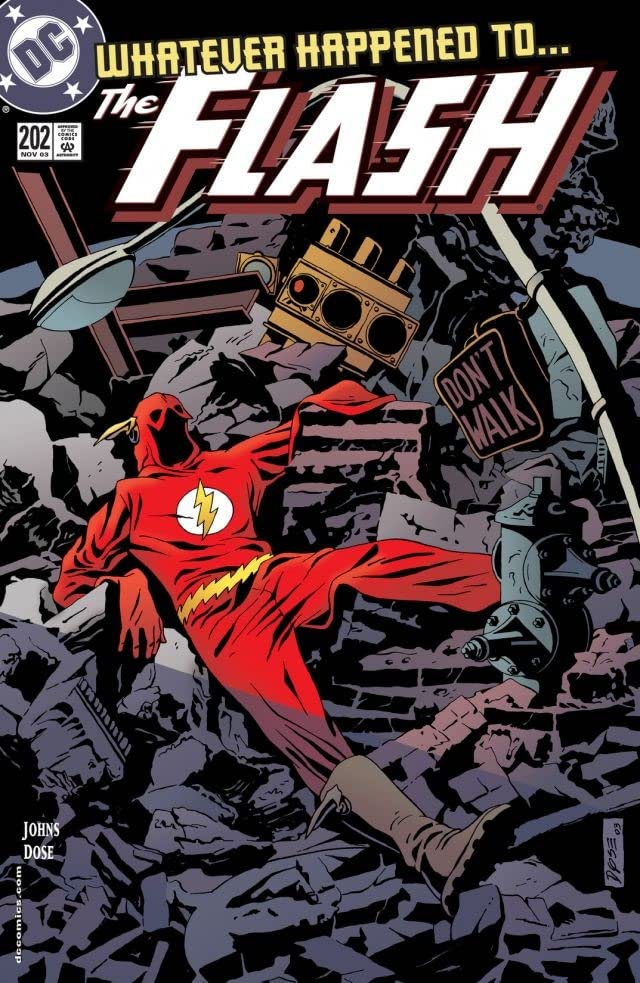 The Flash (1987-2009) #202